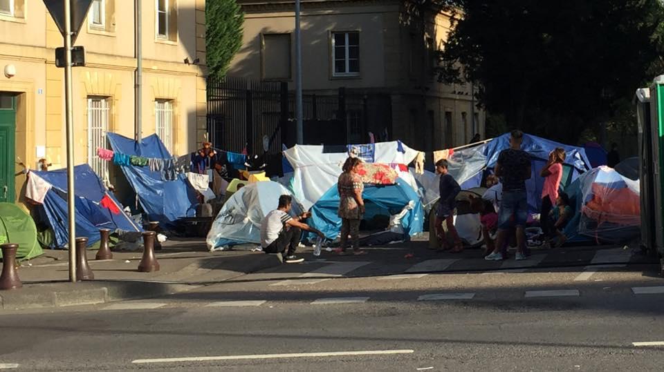 La situation des réfugiés à Blida
