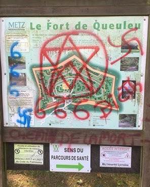 Communiqué de presse – Dégradations Fort de Queuleu