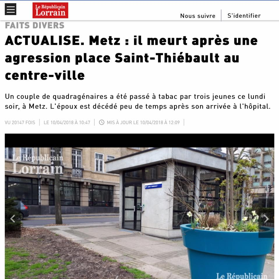 Metz – La sécurité doit être une priorité absolue !