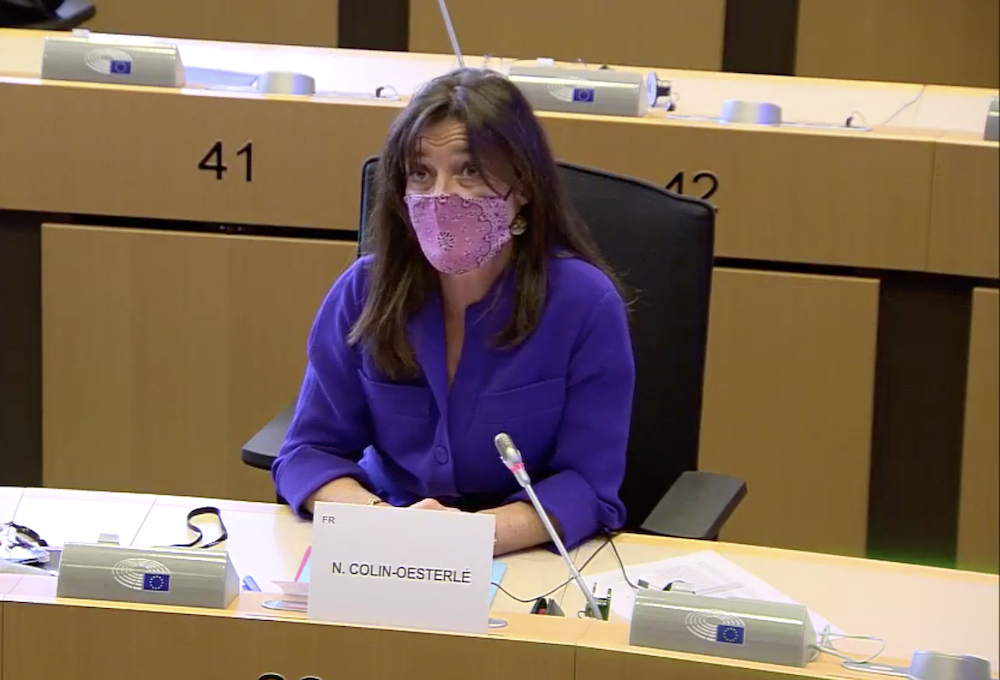 Intervention en commission spéciale cancer