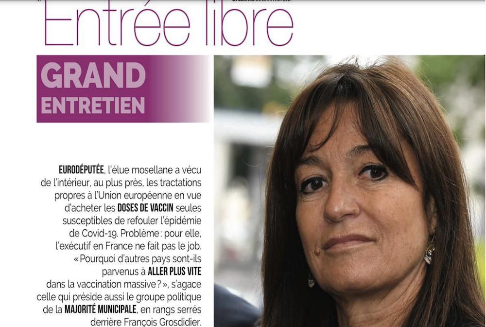 """Interview du journal """"La Semaine"""""""