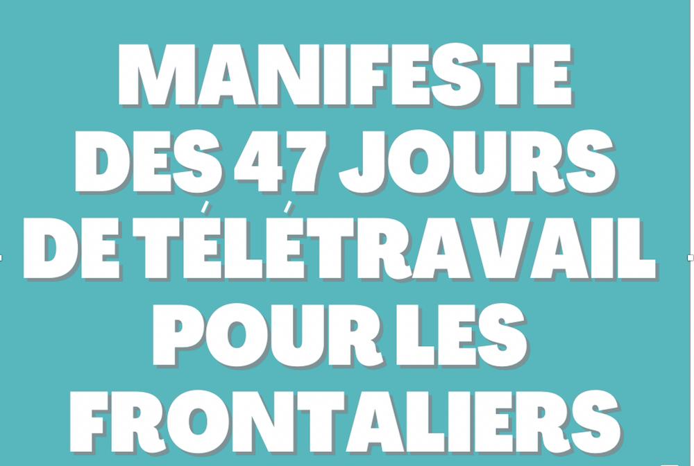 Manifeste pour 47 jours de télétravail