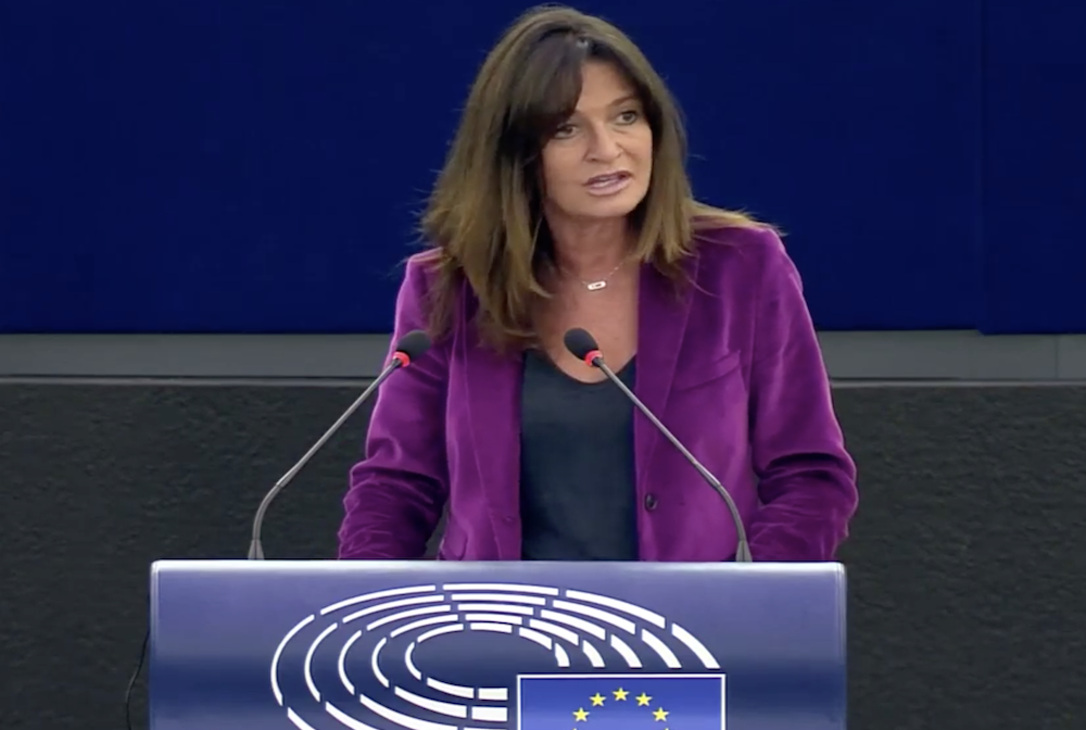 Violences : intervention en séance plénière du Parlement européen